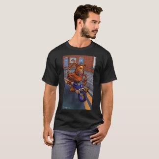 Camiseta Bicicleta Funky do macaco