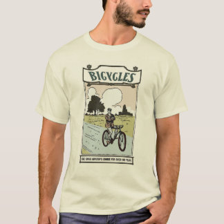 Camiseta Bicicletas: A escolha soberbo do hipster