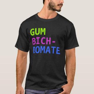 Camiseta Bicromato da goma