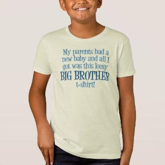 Camiseta Big brother engraçado