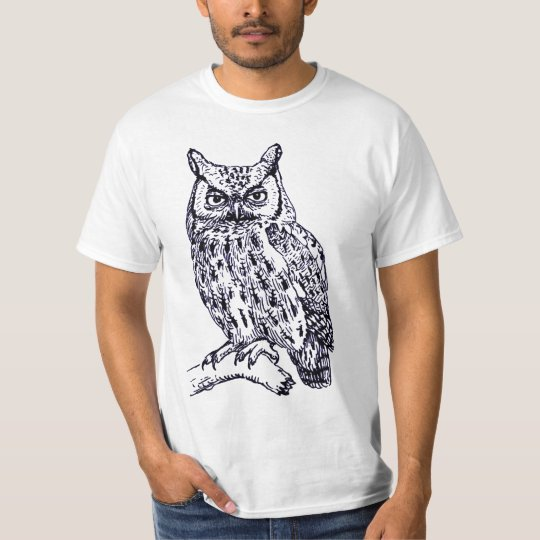 Camiseta BIG OWL Front