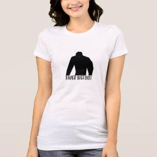 Camiseta Bigfoot de papel