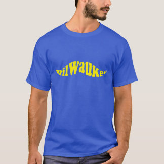 Camiseta Bigode do basebol de Milwaukee