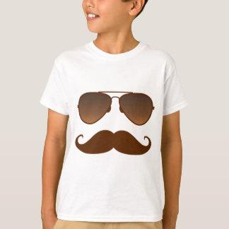 Camiseta Bigode dos óculos de sol