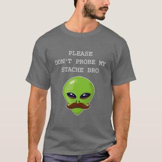 Camiseta Bigode estrangeiro