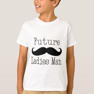 Camiseta Bigode futuro do homem das senhoras