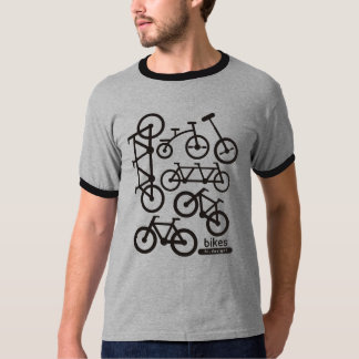 Camiseta bike sign