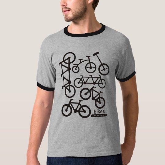 Camiseta bike sign