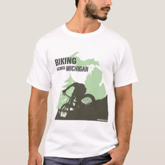 Camiseta Biking através de Michigan