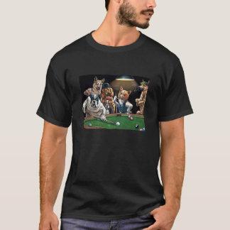 Camiseta Bilhar do osso de cão
