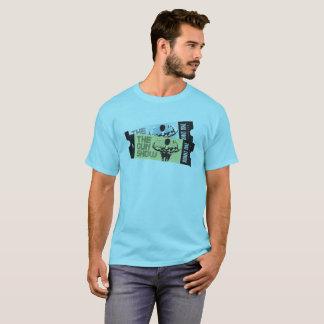 Camiseta Bilhetes à mostra de arma