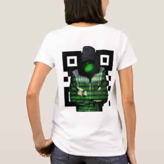 Camiseta Binário de QR