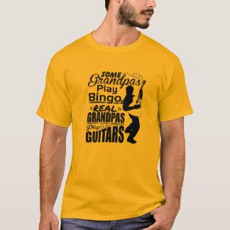 Camiseta bingo do jogo de alguns vovôs…