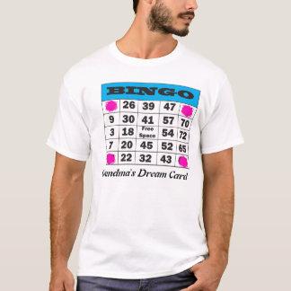 Camiseta bingo, o cartão ideal da avó