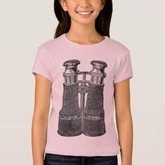 Camiseta Binóculos do vintage