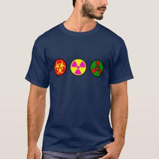 Camiseta Bio, armas nucleares, chem