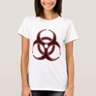 Camiseta Bio símbolo oxidado do perigo