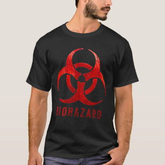 Camiseta Biohazard preto