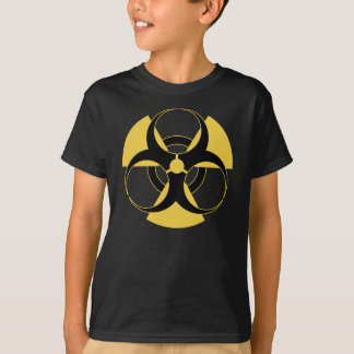 Camiseta Biohazard radioativo