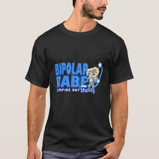 Camiseta BiPolarBabeLogoblueai.ai