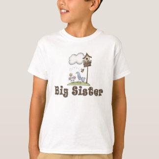 Camiseta Birdhouse da irmã mais velha