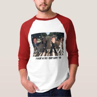 Camiseta Birfday de quatro vias '09