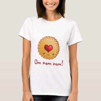 Camiseta Biscoito de OM NOM NOM