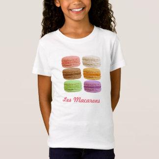 Camiseta Biscoitos de Macaron - pastels muti-coloridos