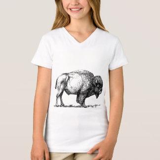 Camiseta Bisonte americano do búfalo