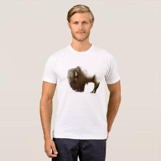 Camiseta Bisonte no inverno
