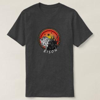Camiseta Bisonte - Sunburst americano do búfalo