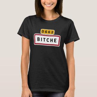 Camiseta Bitche, sinal de estrada, France