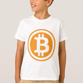 Camiseta Bitcoin logótipo
