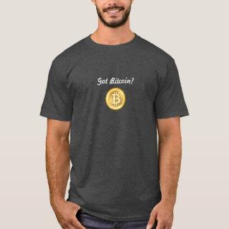 Camiseta Bitcoin obtido? T-shirt