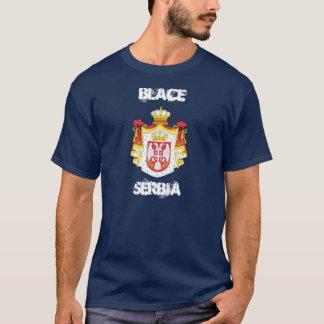 Camiseta Blace, Serbia com brasão