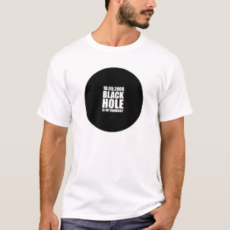 Camiseta Blackhole é meu ficar em casa