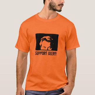 Camiseta blackwilderssmall, apoio Geert!