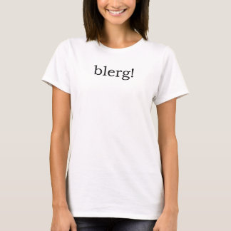 Camiseta Blerg
