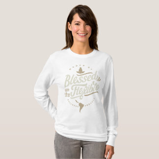 Camiseta Blessed é a luva longa flexível