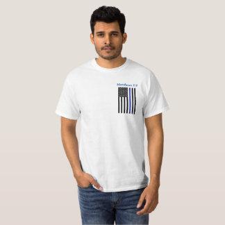Camiseta Blessed é o pacificador - 5:9 de Matthews
