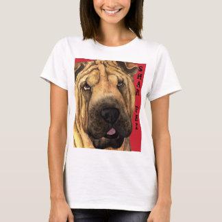Camiseta Bloco da cor de Shar-Pei
