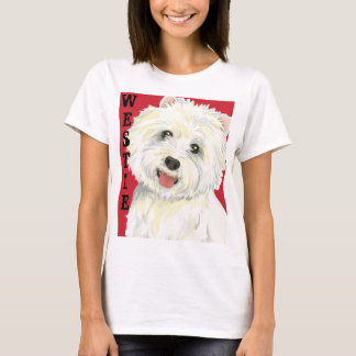 Camiseta Bloco da cor de Westie