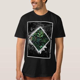 Camiseta Bloco da cor do musgo