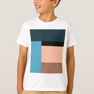 Camiseta Bloco da cor do sorvete