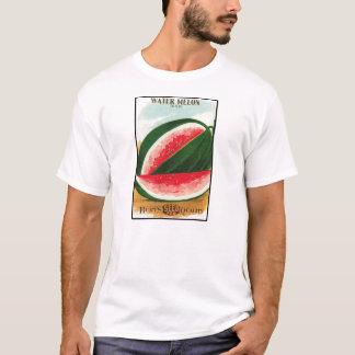 Camiseta Bloco da semente do vintage da melancia de Dixie