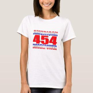 Camiseta bloco grande chevy 454