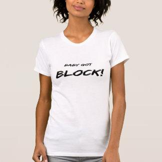 Camiseta Bloco obtido bebê customisable