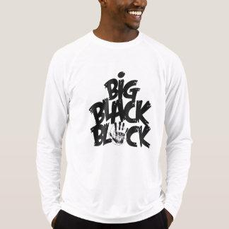 Camiseta Bloco preto grande