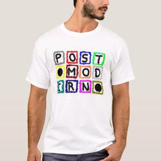 Camiseta Blocos postmodernos