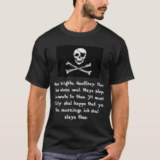 Camiseta Blogue de Chaucer: Drede Pyrate